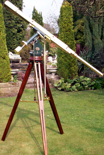 A T. Cooke & sons English Telescope on stand-C.1872
