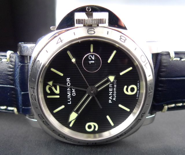PANERAI LUMINOR GMT PAM 29 IN BOX WITH PAPERS