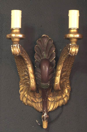 Elegant Swan Sconces