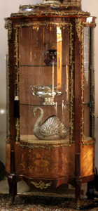 A French Marquetry Vitrine