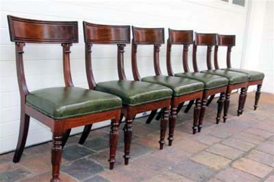 A Set of Six William IV Mahogany Chairs c.1835